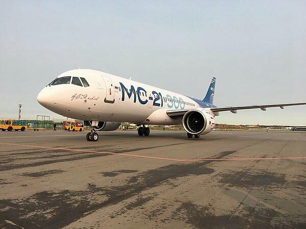 Самолет МС-21-300 совершил беспосадочный перелет из Иркутска в Жуковский Мс-21, Иркут