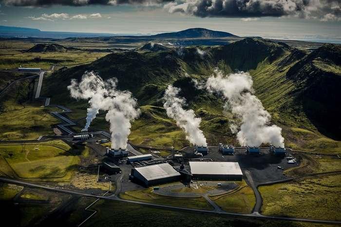 Переработка СО2 в карбонатный минерал. В Исландии открыт первый в мире завод Со2, Выбросы Со2, Улавливание углерода, Углерод, Длиннопост