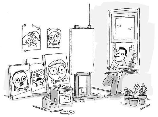 Когда художник работает в реалистичной манере