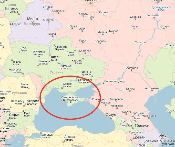 берется граница украины и россии на карте подробно инструмент