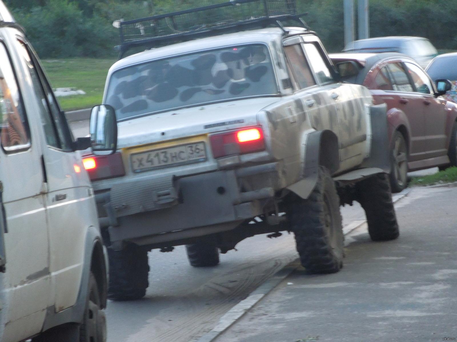 машина для русских дорог фото отвести