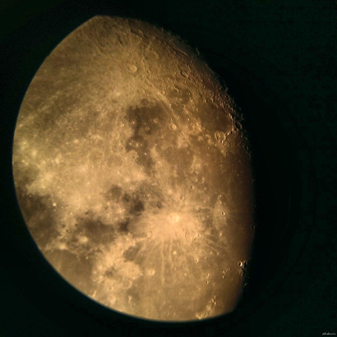 давних времён, фото луны через телескоп заражения вшами