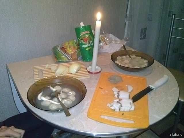 романтический ужин на двоих на фото