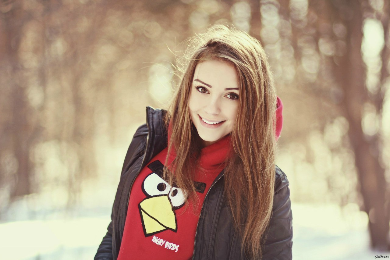красивые девушки одной фото