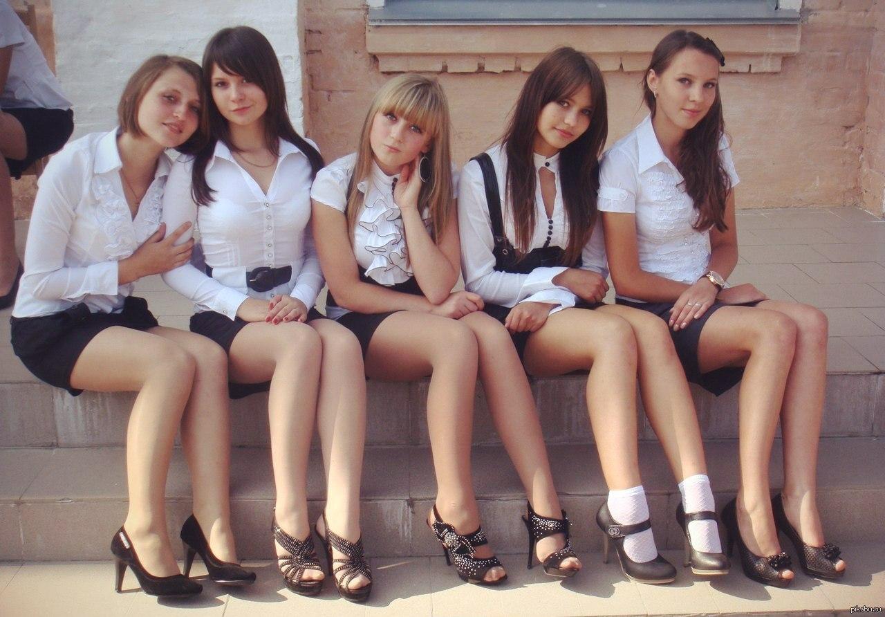 в колготках фото школьницы