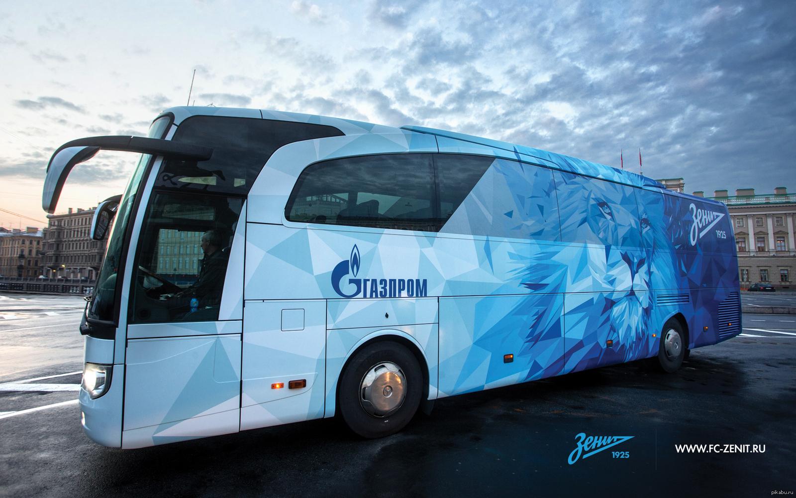 автобус зенита фото