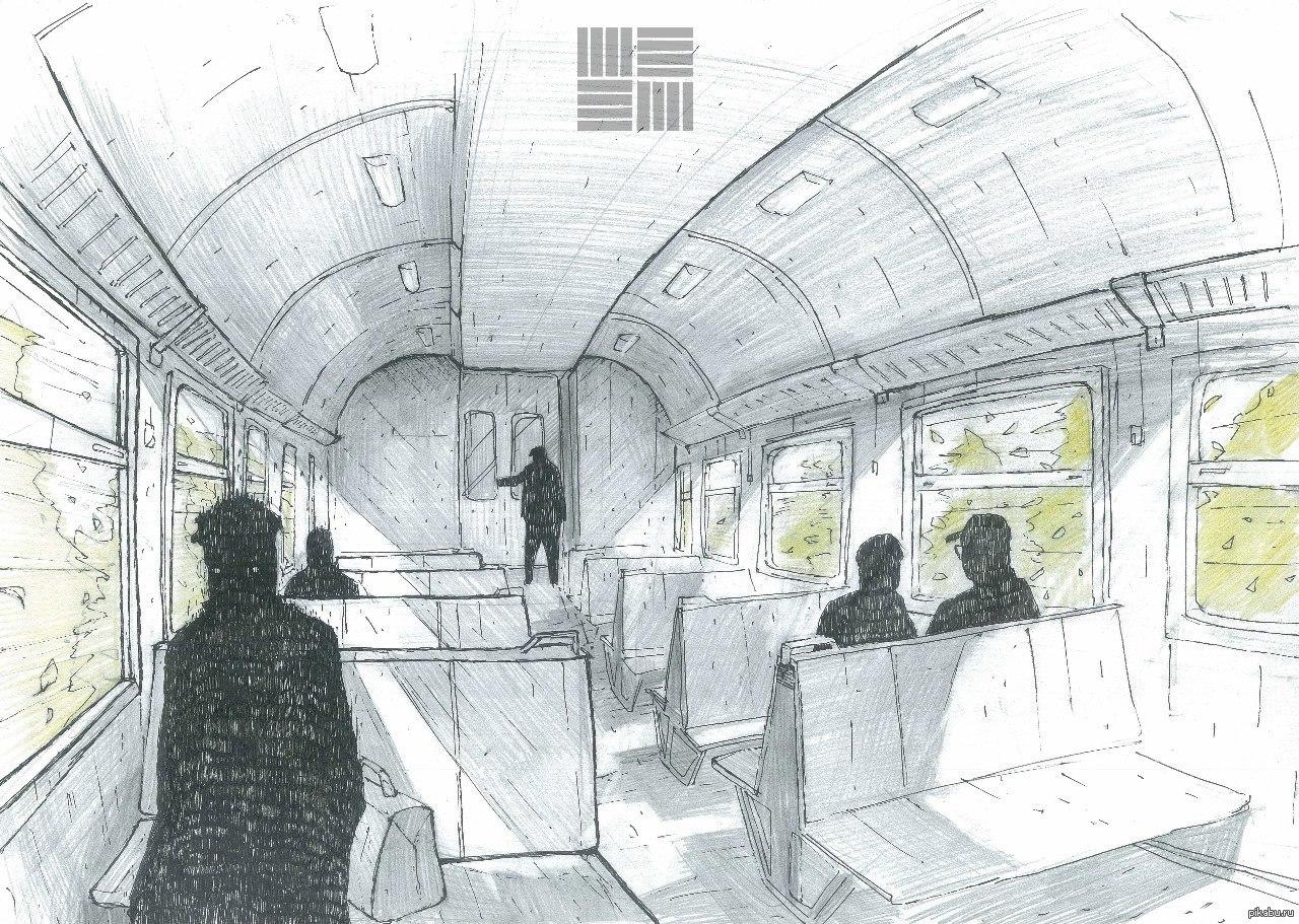 эхинокактус картинки чтобы рисовать в поезде днем