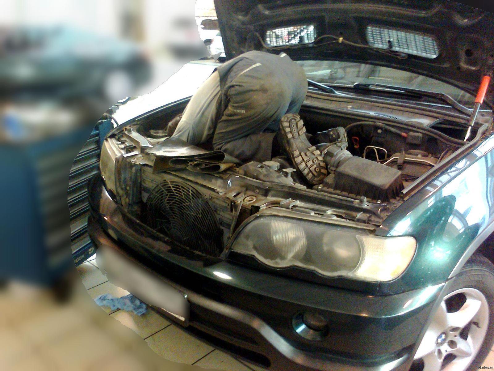 картинки приколы ремонт авто его поэтические