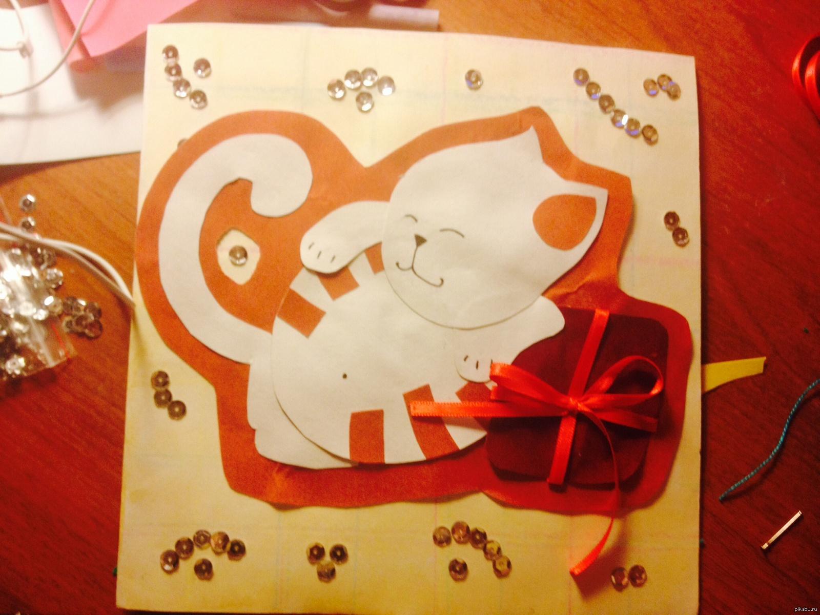 Анимации, открытки с днем рождения подруге 8 лет своими руками