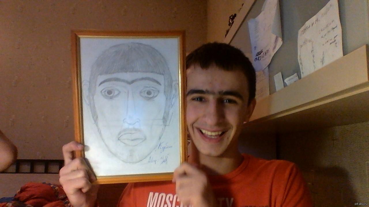картинки для брата от сестры нарисовать удалось