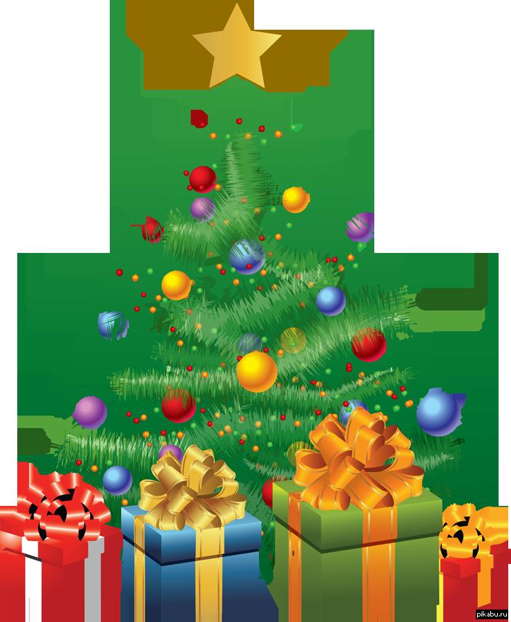 Картинка новогодняя елка для детей