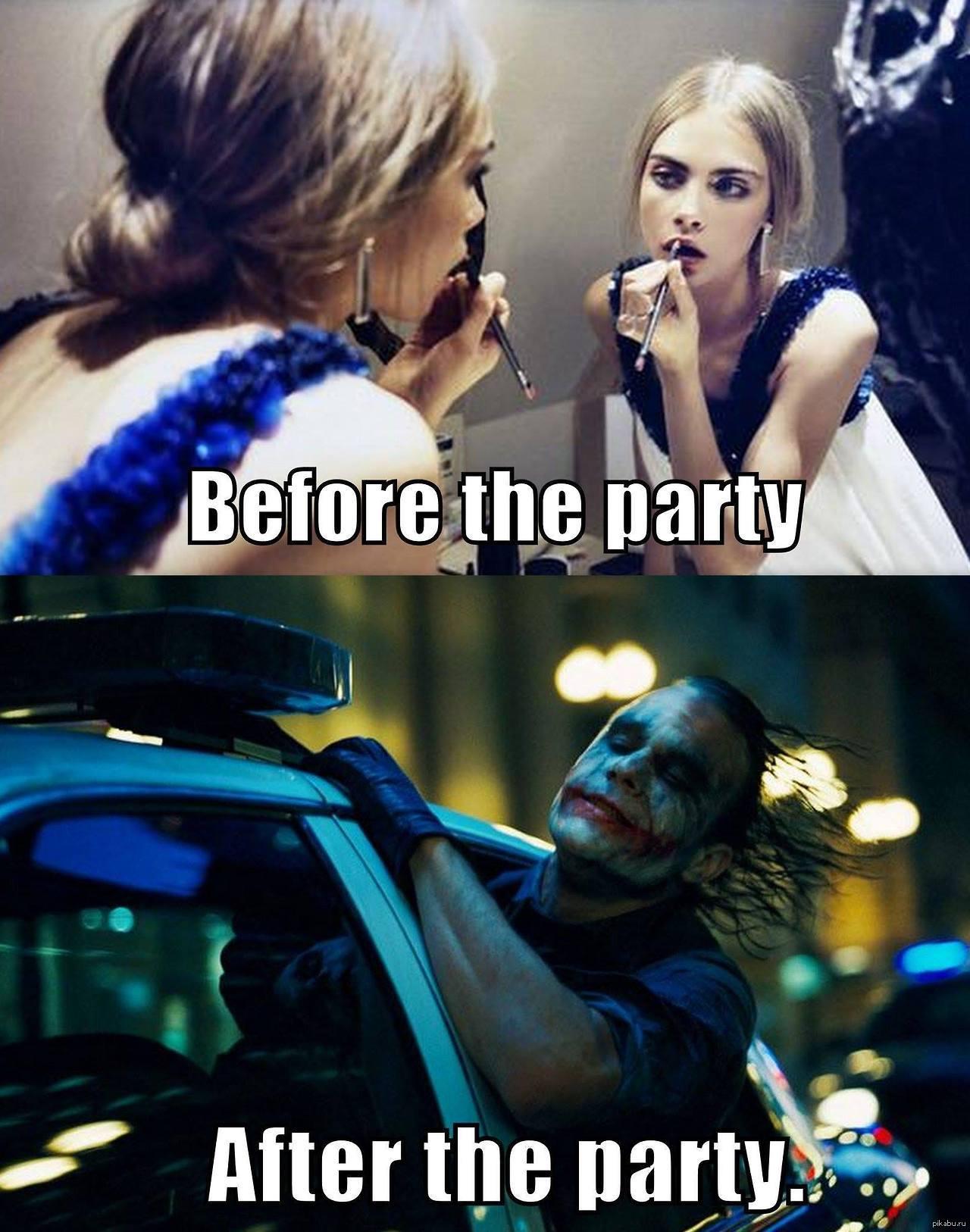 девушки после вечеринки фото