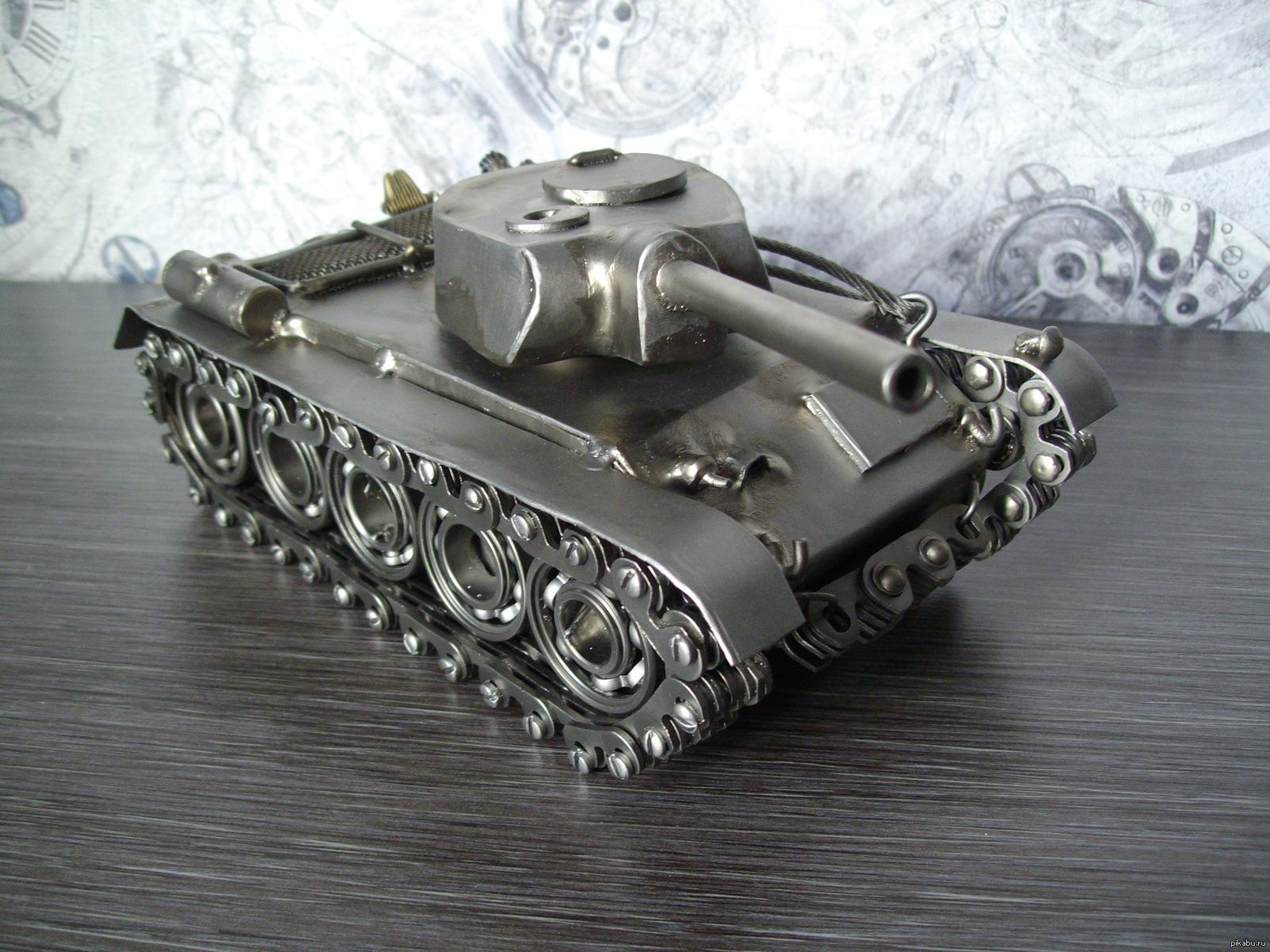 картинки самодельного танка поделка из металла как