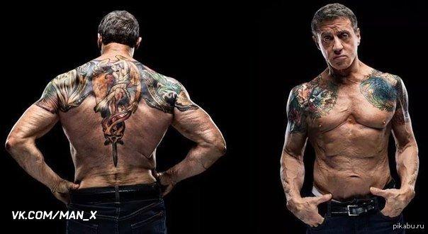 Сильвестр сталлоне его татуировки клипы аврил лавин complicated