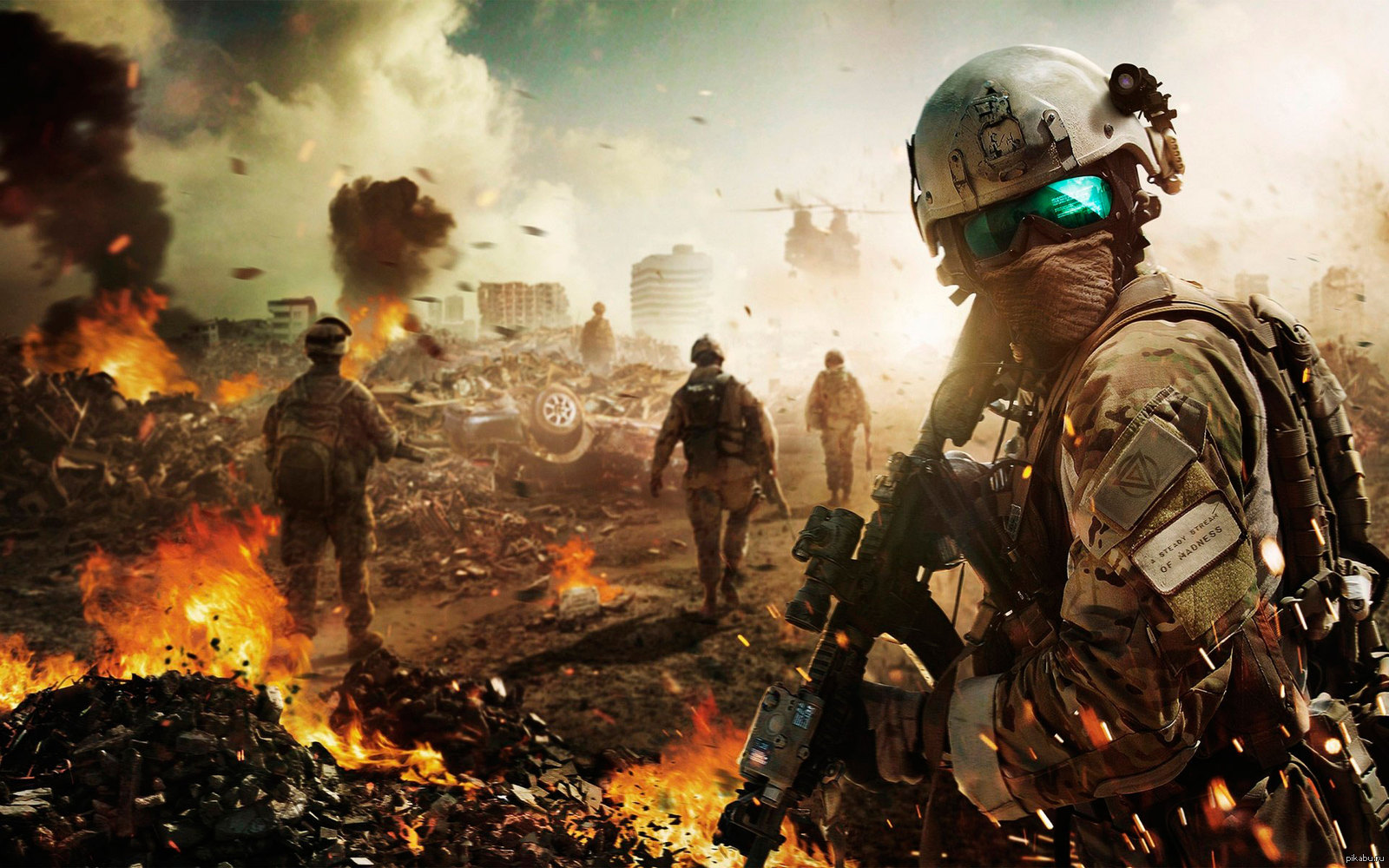 military ultimate war - HD 2560×1600