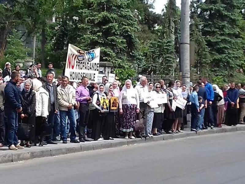 Притеснения секс меньшинств в молдавии