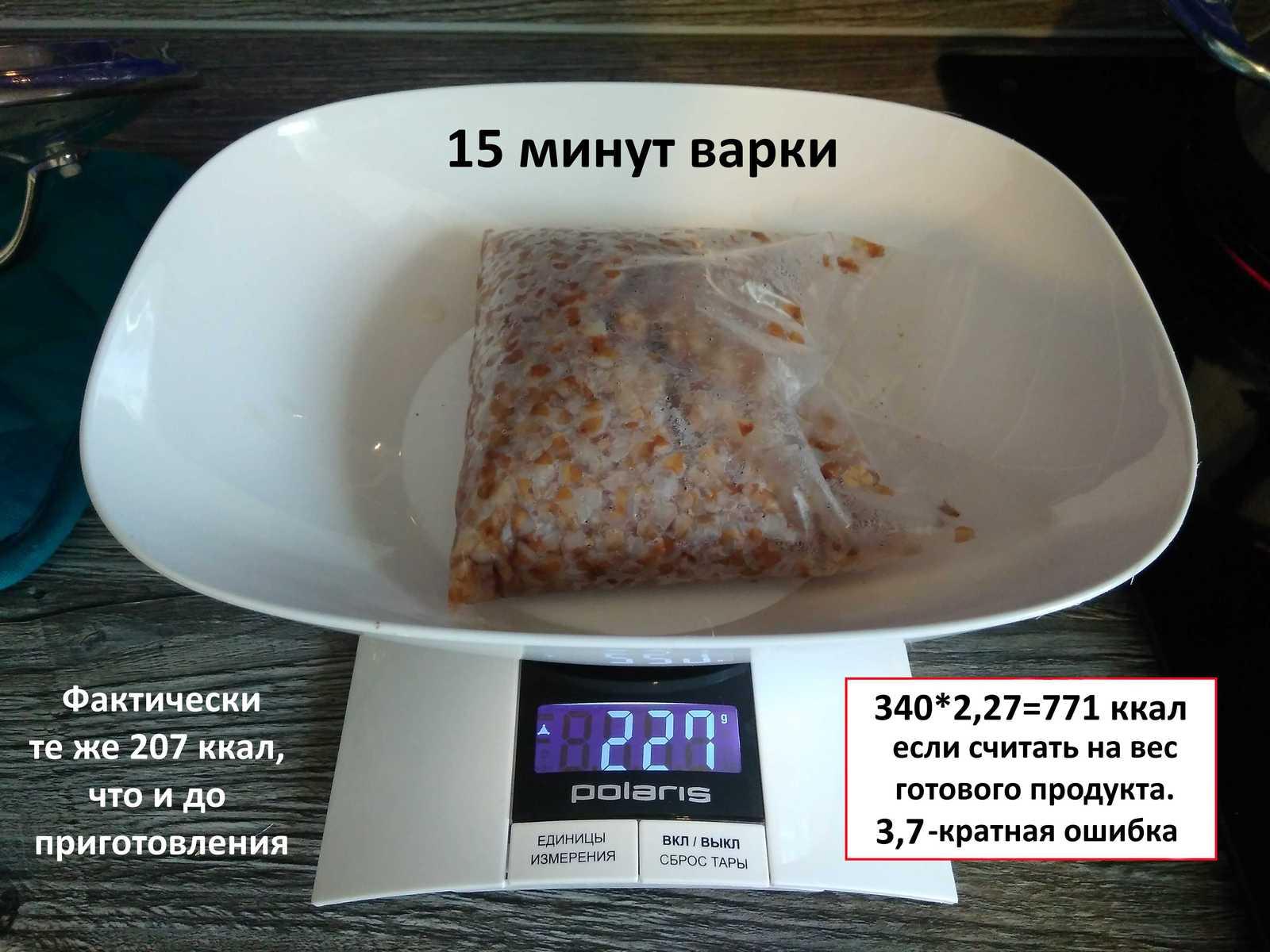 Учимся правильно считать калории в еде
