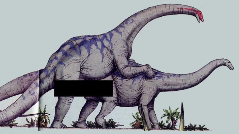 Секс динозавры видео