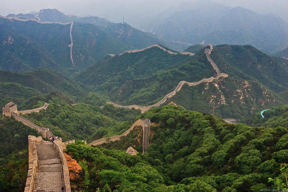Interesnye Fakty Velikaya Kitajskaya Stena Pikabu