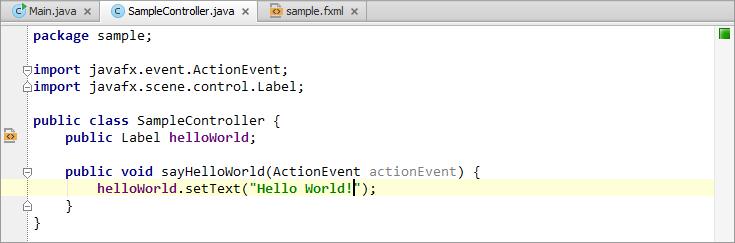Создаем программу Hello World в JavaFX в IntelliJ IDEA