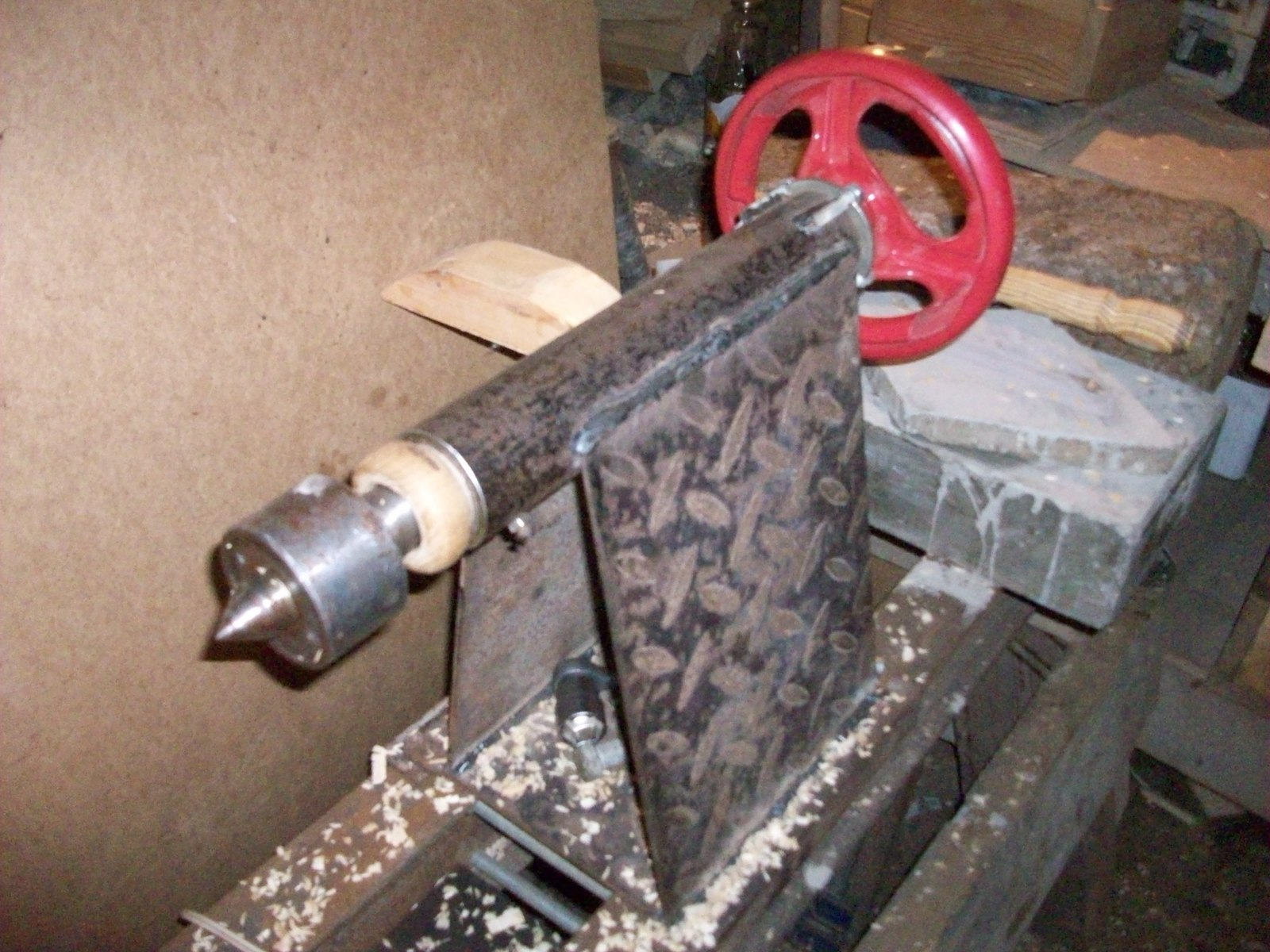 Как сделать самодельный токарный станок по металлу фото 569