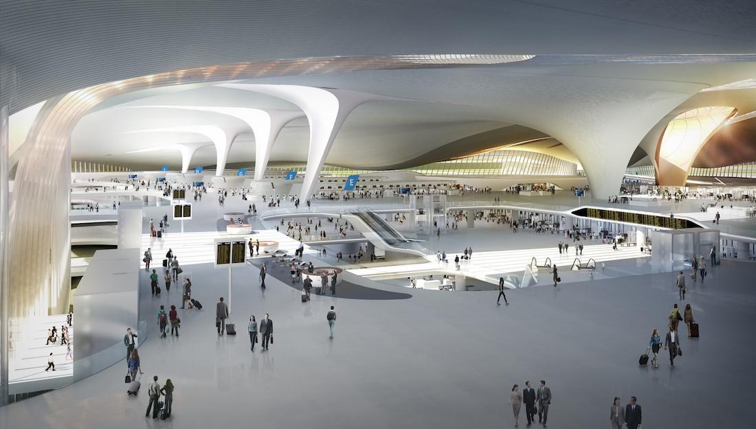 Cамый большой аэропорт в мире аэропорт