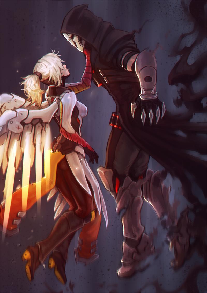 картинки демона и ангела