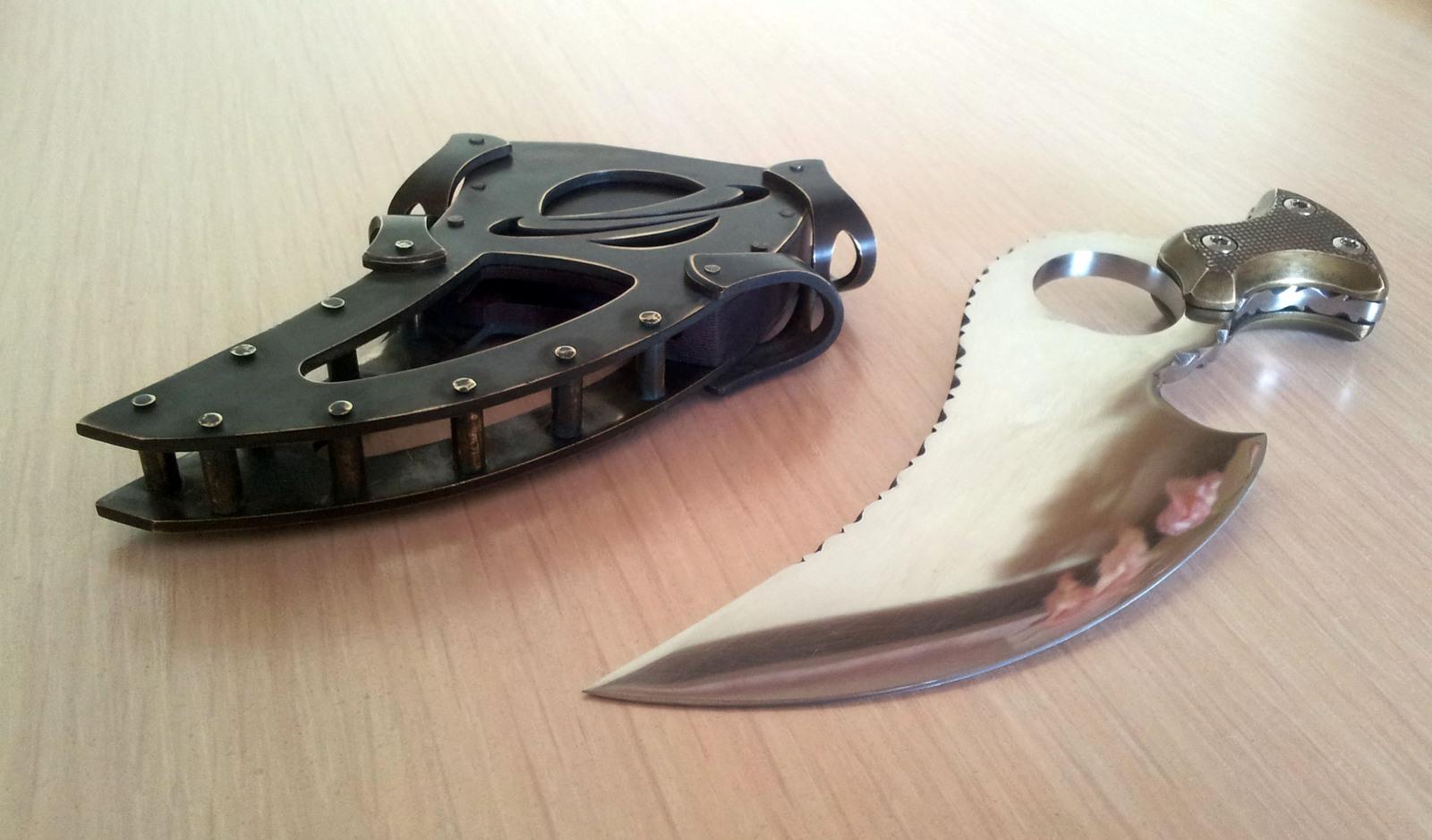 Нож эскалибур своими руками