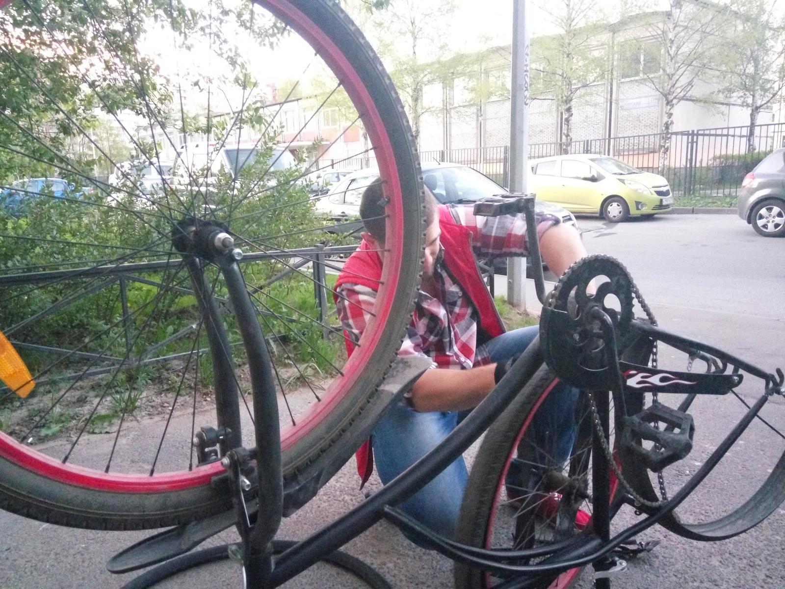 Своими руками переделать велосипед фото 409