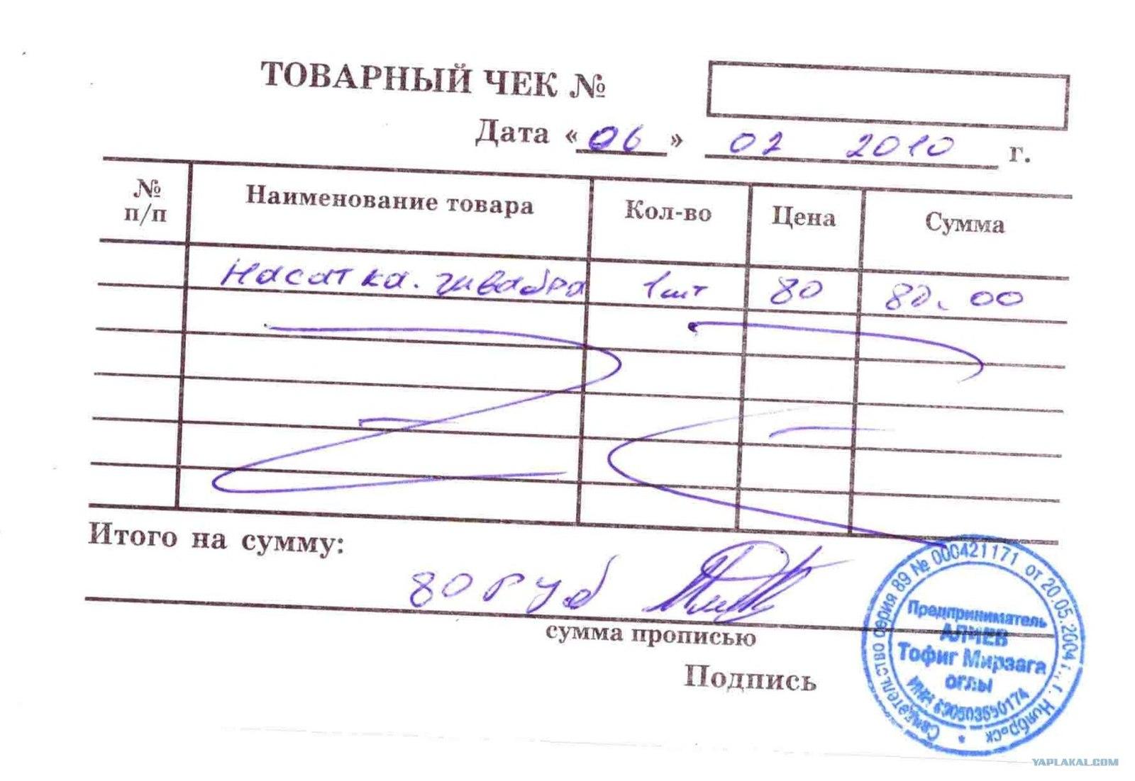 Налоговая не принимает товарный чек пакет документов для получения кредита Вильнюсская улица