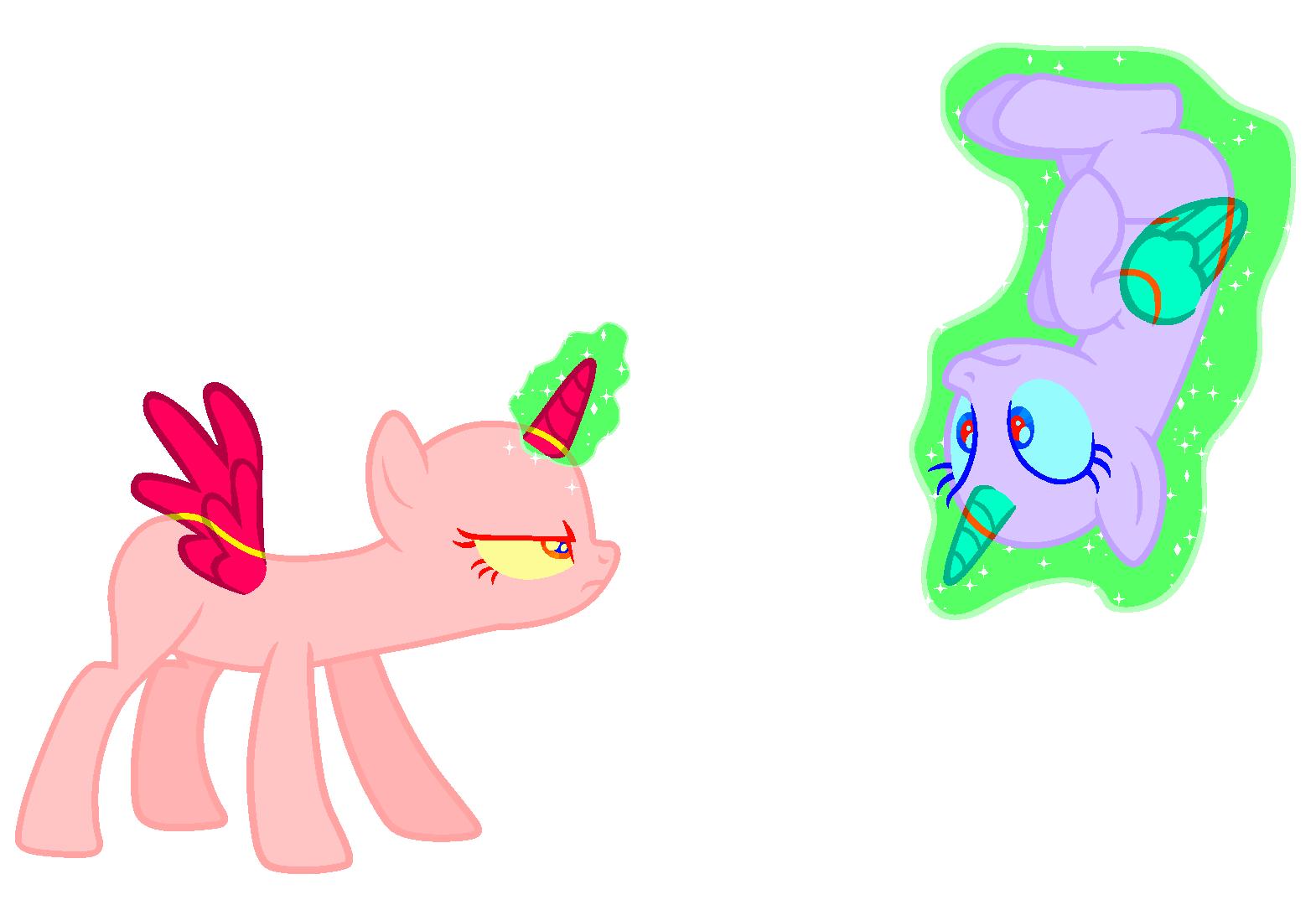 картинки пони манекенов