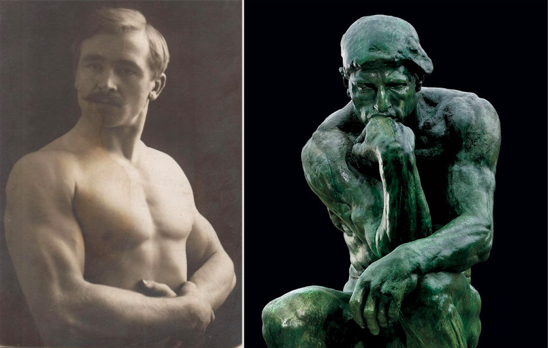 фото скульптура мыслитель