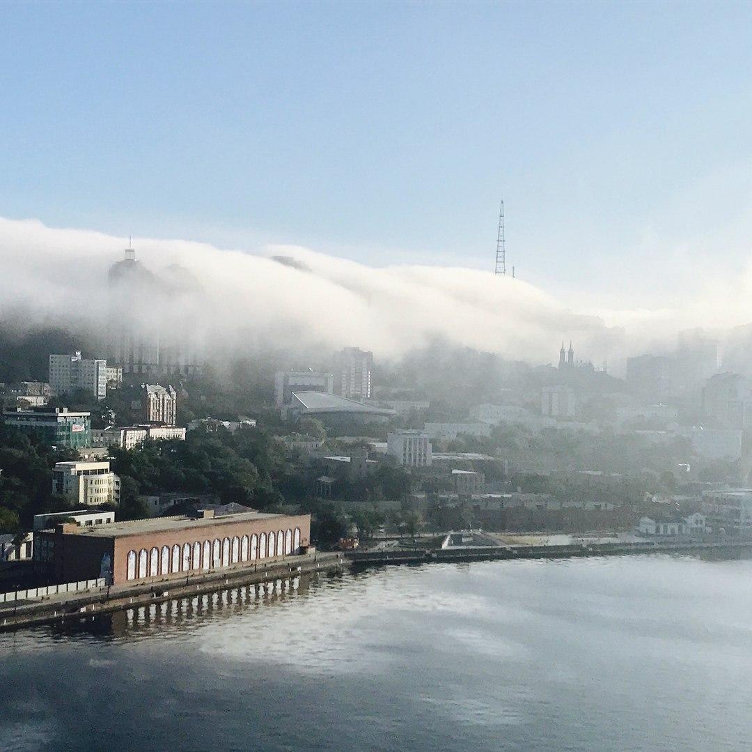 карта владивосток туман фото всех