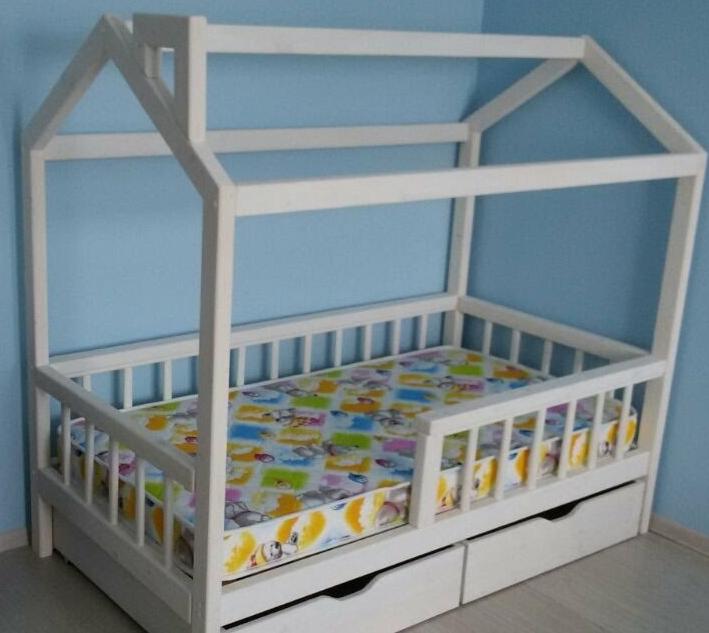 Кровать для дочери своими руками