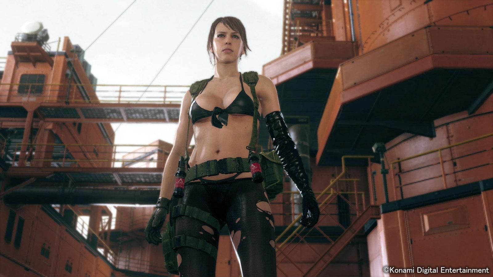 Сексуальный персонаж в игре