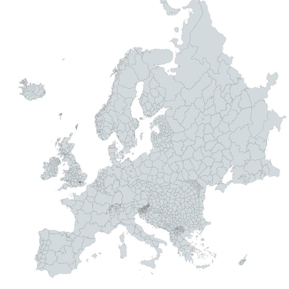 Karta Avtonomnyh Regionov Evropy Pikabu