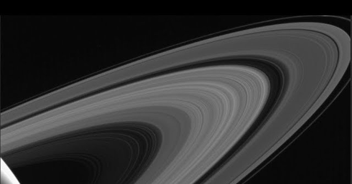 Heres a little dose of space porn for Saturn fans NASA leaked a photo of the planet in all its ringed glory on its website As the space organization